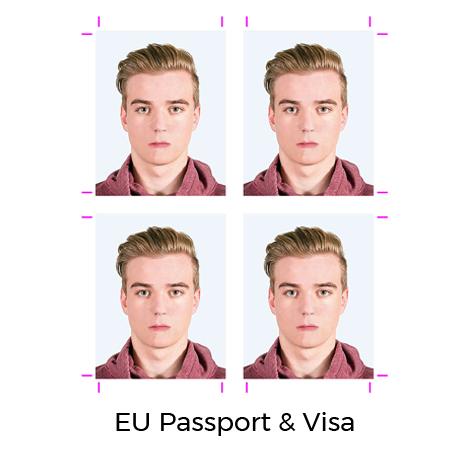 EU Passport Photo | EU Visa Photo