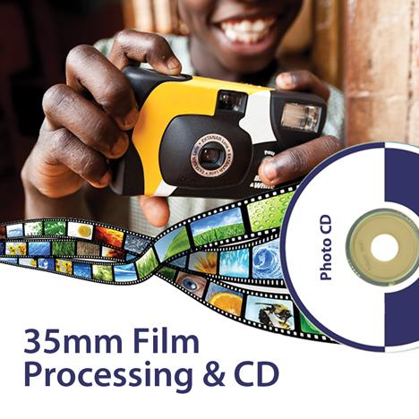 35mm Film Processing | Colour C41 Processing