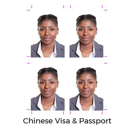 Chinese Visa Photo   Passport Photo