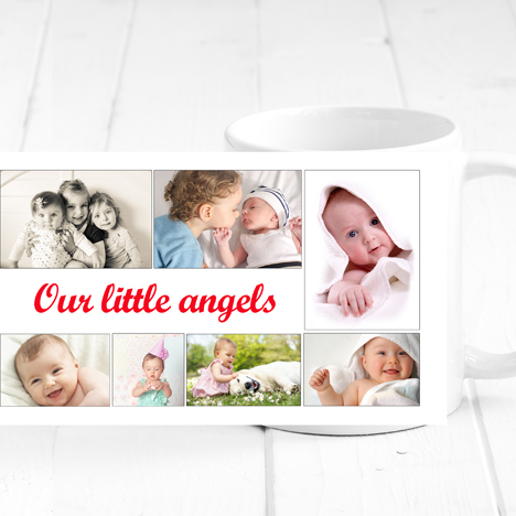 Personalised Collage Mug
