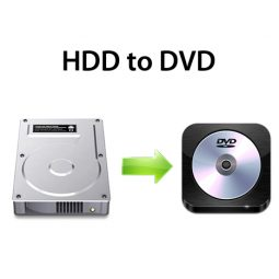 HDD to DVD Transfer | Copy HDD to DVD