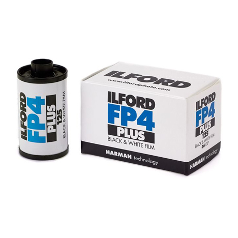 Ilford FP4 Plus 125 Black and White Film