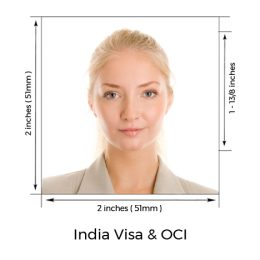 Indian Visa Photo | OCI Photo