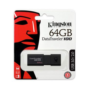 Kingston DataTravel 100 G3 64GB USB 3.1/3.0/2.0