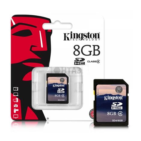 Kingston SDHC SD4 8GB Class4