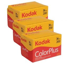 Kodak ColorPlus 200 Film (Pack of 3)