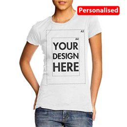 Woman's Personalised T Shirts | Create Custom T-Shirts