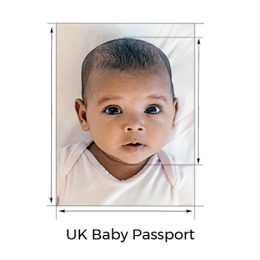 UK Baby Passport Photo