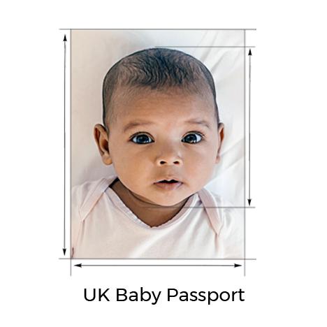 UK Baby Passport Photo
