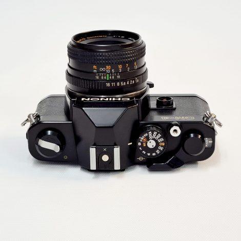 Chinon CM-4 + 50mm f/1.9 Lens