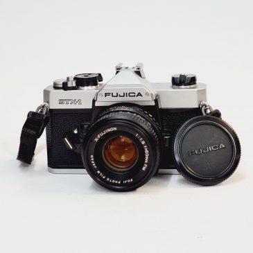 Fujica STX-1 + X-Fujinon 50mm f/1.9
