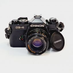 Chinon CE-4 + 50mm f/1.9 Lens