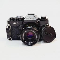 Ricoh KR-5 + Riconar 55mm f/2.2