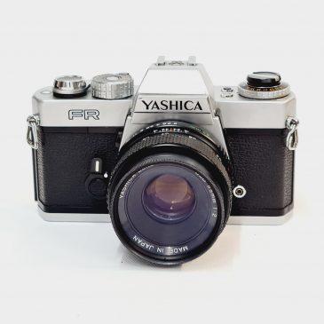 Yashica FR SLR + Yashica 55mm f/2