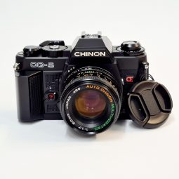 Chinon CG-5 + Chinon 50mm f/1.7