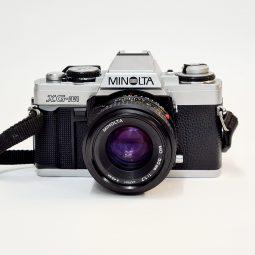 Minolta XGM + Minolta MD 50mm f/1.7