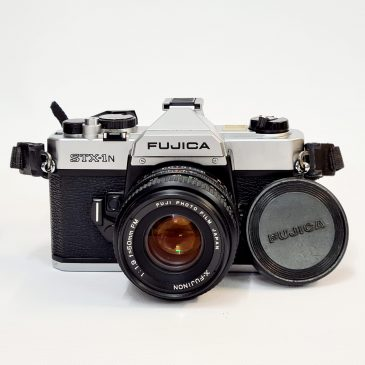 Fujica STX-1n + X-Fujinon 50mm f/1.9 with Case