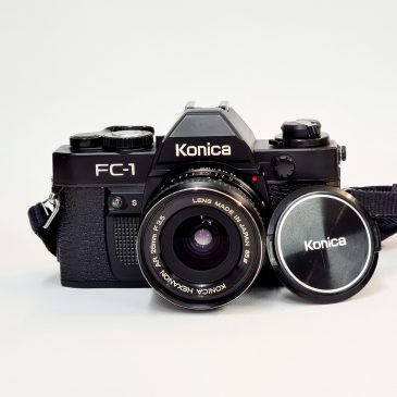 Konica FC-1 + Hexanon 28mm f/3.5 with Case