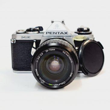 Pentax ME + Ozunon 28-70mm