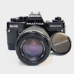 Praktica BMS + Pentacon 70-210mm