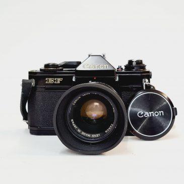 Canon EF  + Canon FD 50mm f/1.8