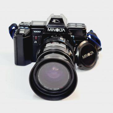 Minolta Maxxum 7000 + Minolta AF 35-70mm