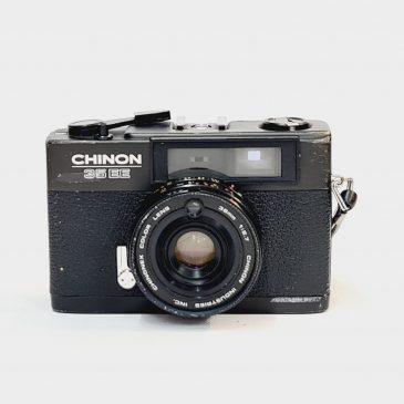 Chinon 35 EE + Chinonex 38mm F/2.7