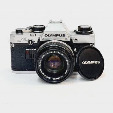 Olympus OM-10 + Zuiko 50mm f/1.8