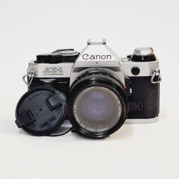 Canon AE-1 Program + Canon FD 50mm f/1.4