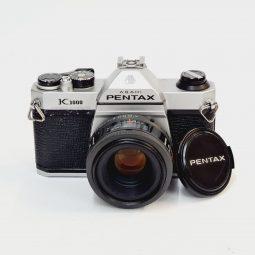 Pentax K1000 + Pentax 50mm