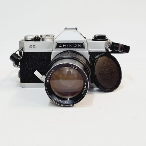 Chinon CS with Mirage 135mm f2.8 and 50mm f2.8