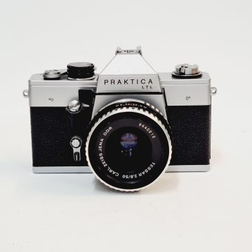 Praktica LTL + Carl Zeiss Tessar 50mm