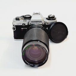 Olympus OM-10 + Tokina RMC 50-200mm