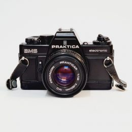 Praktica BMS + Pentacon 50mm