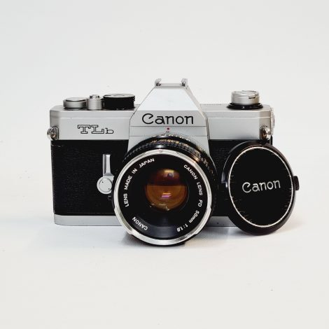 Canon TL-b with Canon 50mm f/1.8