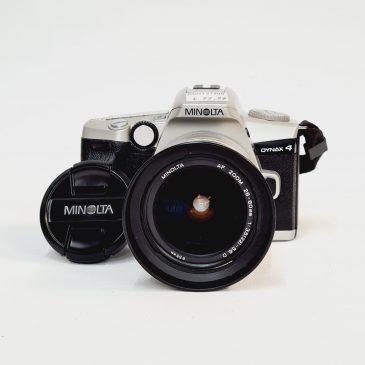Minolta Dynax 4 + Minolta AF 28-80mm